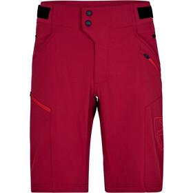 Ziener Neonus X-Function Shorts Men, red pepper